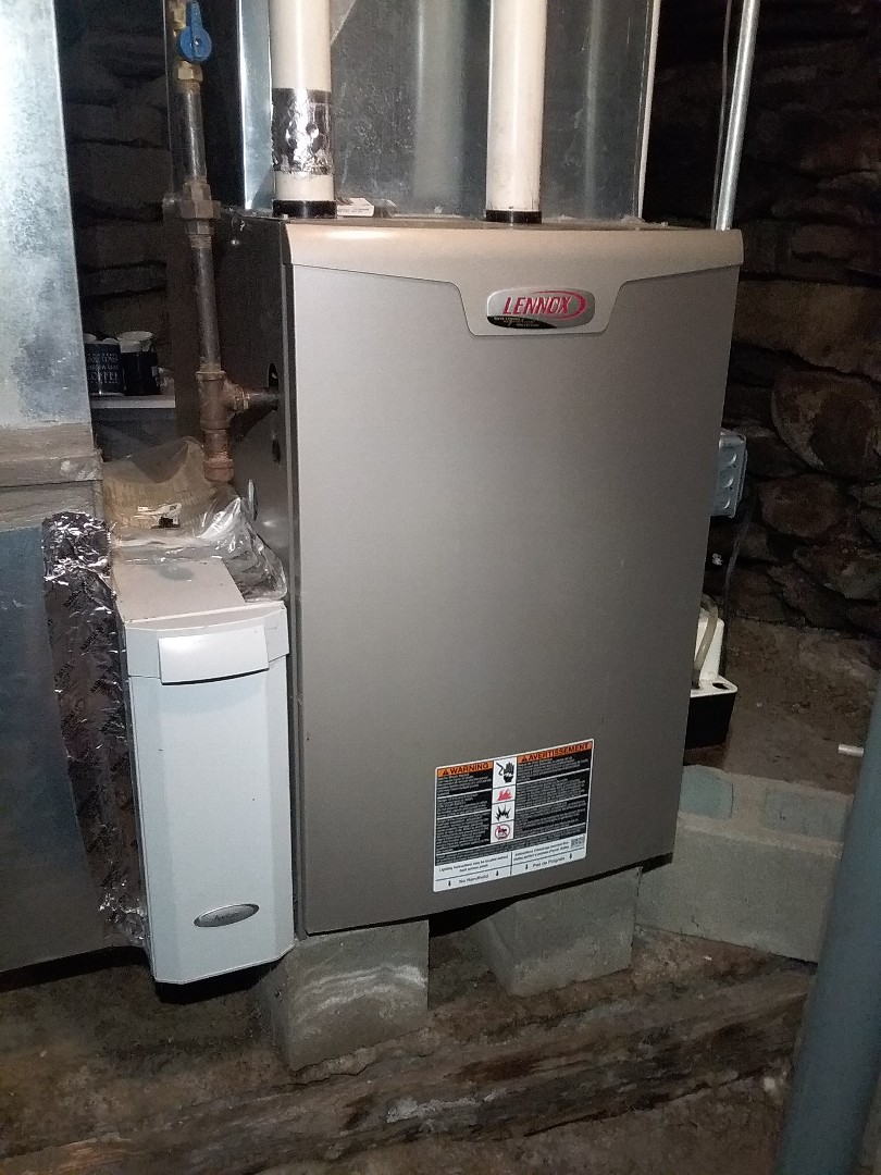 Barre, MA - Performed preventive maintenance on lennox propane furnace