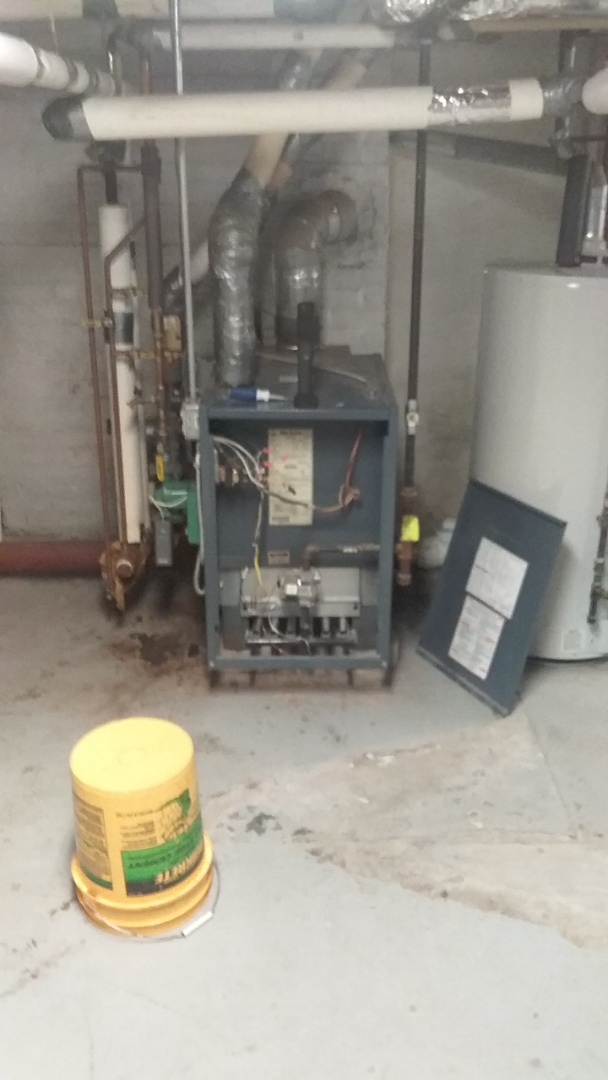 Oxford, MA - Service on a teledyne Laars gas boiler