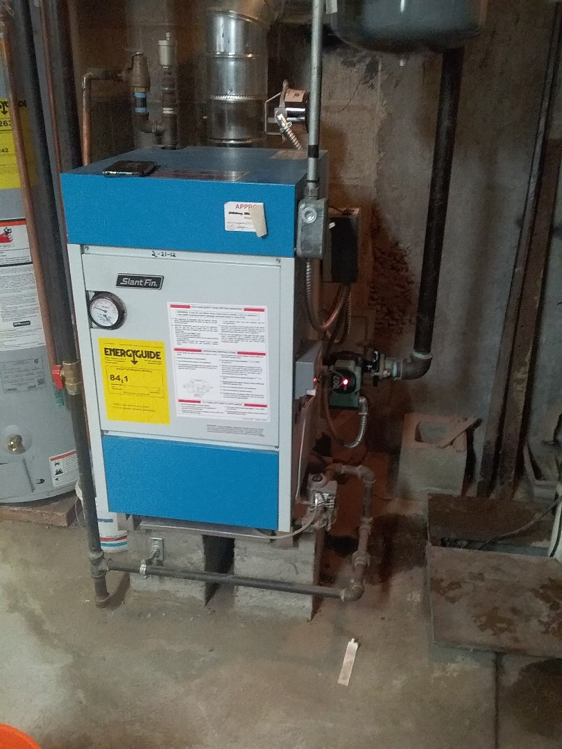 Northbridge, MA - Replace circulator pump on slant fin gas boiler