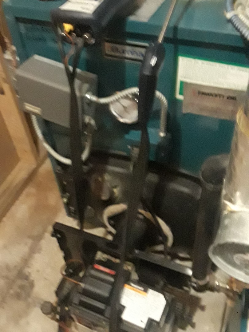 Acton, MA - Clean and check Burnham oil boiler
