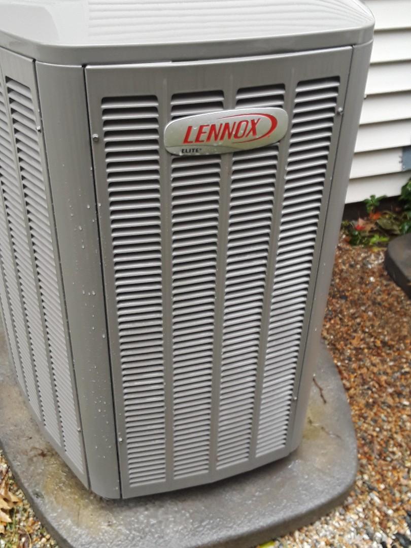 Southborough, MA - Clean and check Lennox AC units