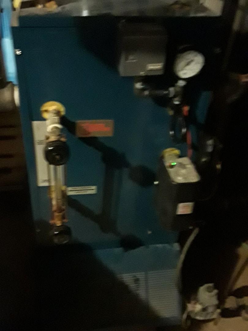 Auburn, MA - Repair on a Utica gas steam boiler