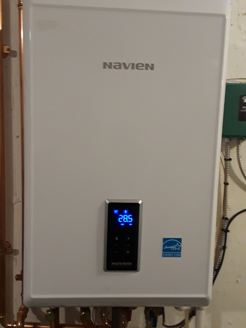 Leominster, MA - Clean and check Navien gas boiler