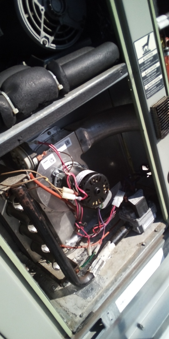 Leominster, MA - Heat exchanger replacement on a Trane rooftop unit