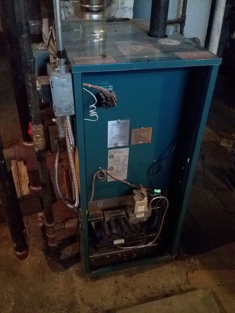 Worcester, MA - Performed preventive maintenance procedures on Burnham gas steam boiler