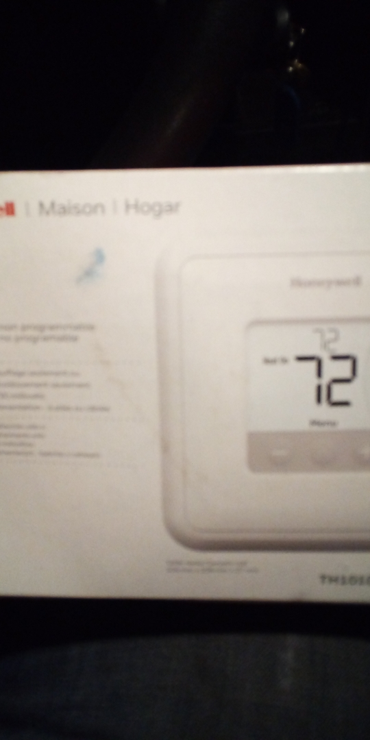 Holden, MA - Programing programmable thermostat