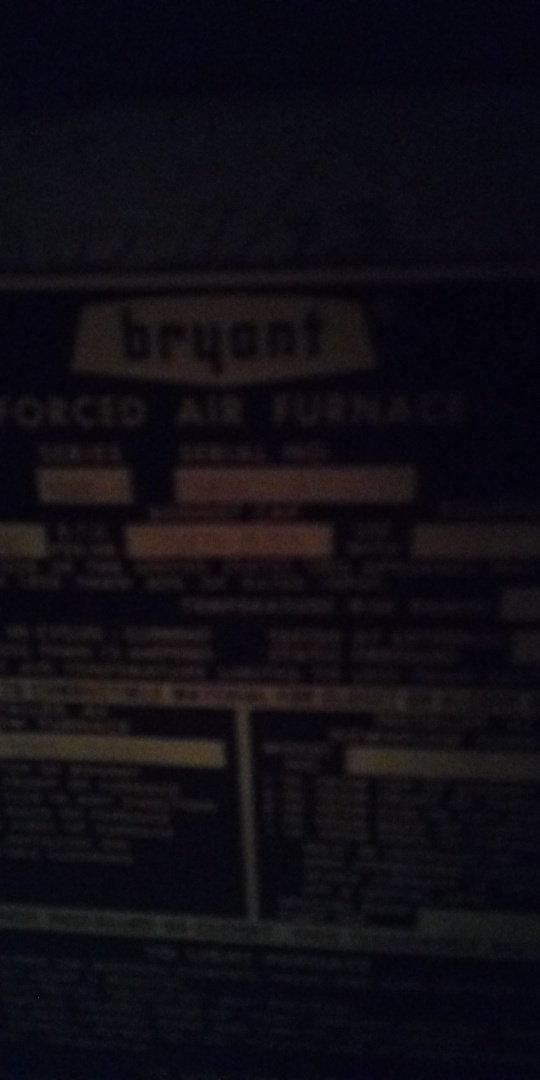 Worcester, MA - Trouble shooting old Bryant gas furnace
