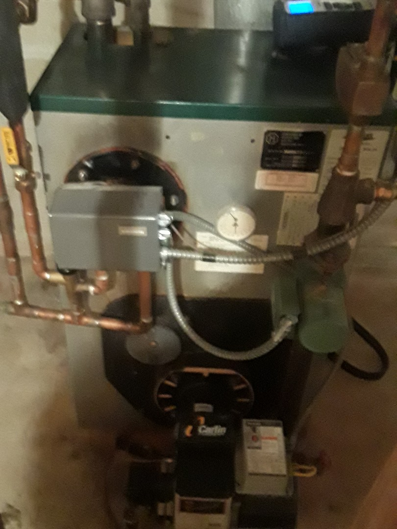 Leominster, MA - Clean and check Peerless oul boiler