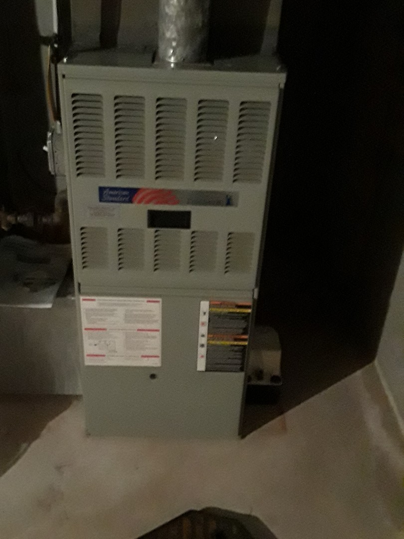 Marlborough, MA - Clean and checked American Standard gas heating unit