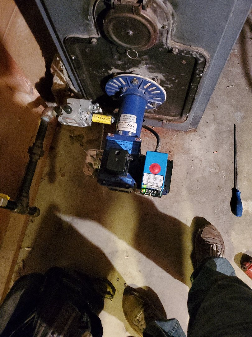 Lancaster, MA - Carlin gas ex gas conversion burner troubleshooting