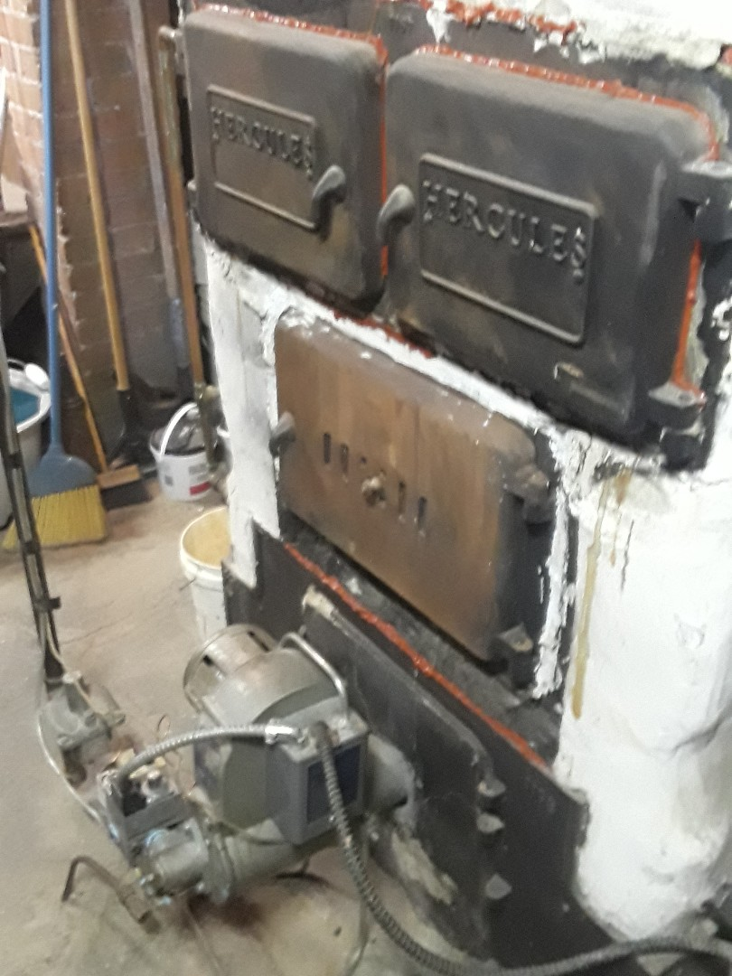 Leominster, MA - Clean and check Hercules gas boiler