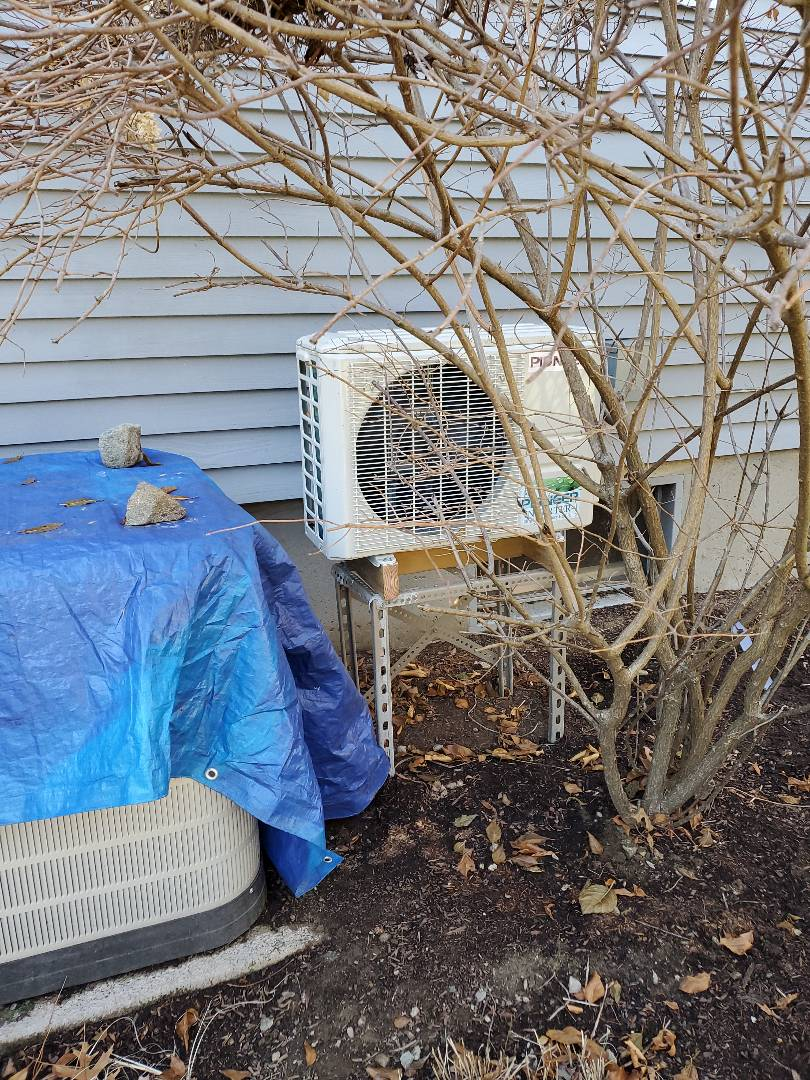 Southborough, MA - Installation  of pioneer  ductless unit single head