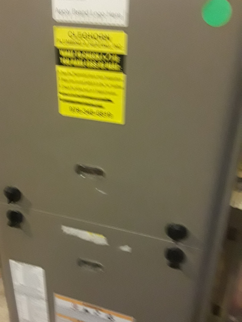 Fitchburg, MA - Repair on a York gas furnace