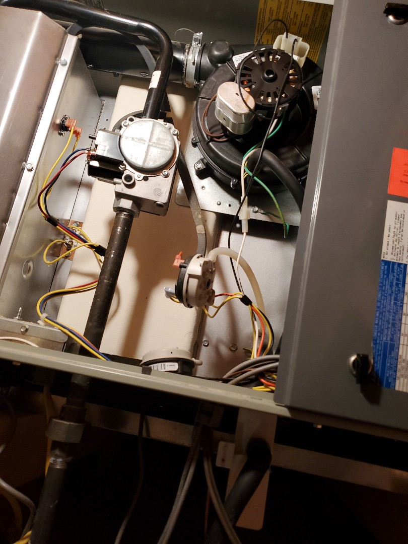 Westborough, MA - Draft inducer and pressure  switch replacement  on a American standard furnace