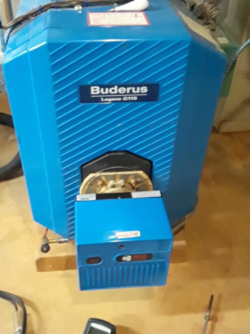 Leominster, MA - Heat repair on a Buderus boiler
