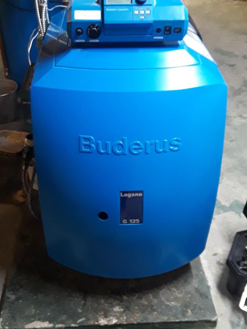 Rutland, MA - Clean and check Buderus oil boiler