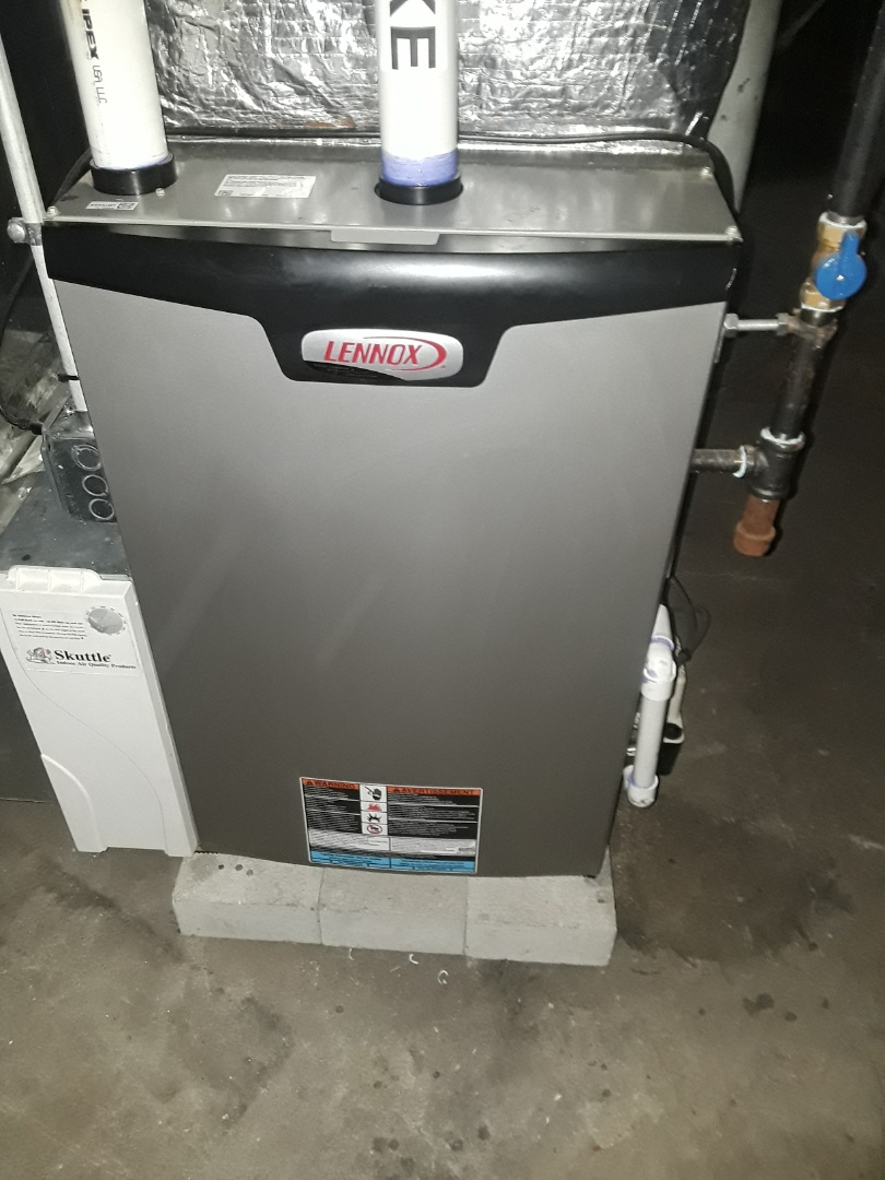 Northbridge, MA - Clean and checked Lennox heating unit