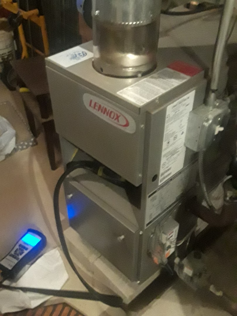Boxborough, MA - Clean and check Lennox gas boiler