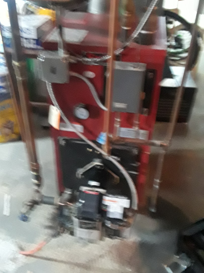 Leominster, MA - Clean and checked HB Smith oil boiler