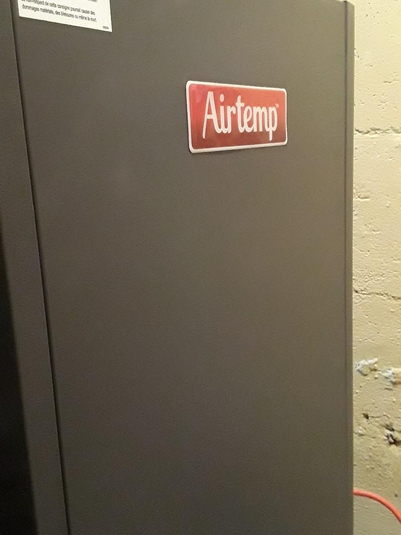 Leominster, MA - Repair on a AirTemp oil heating unit