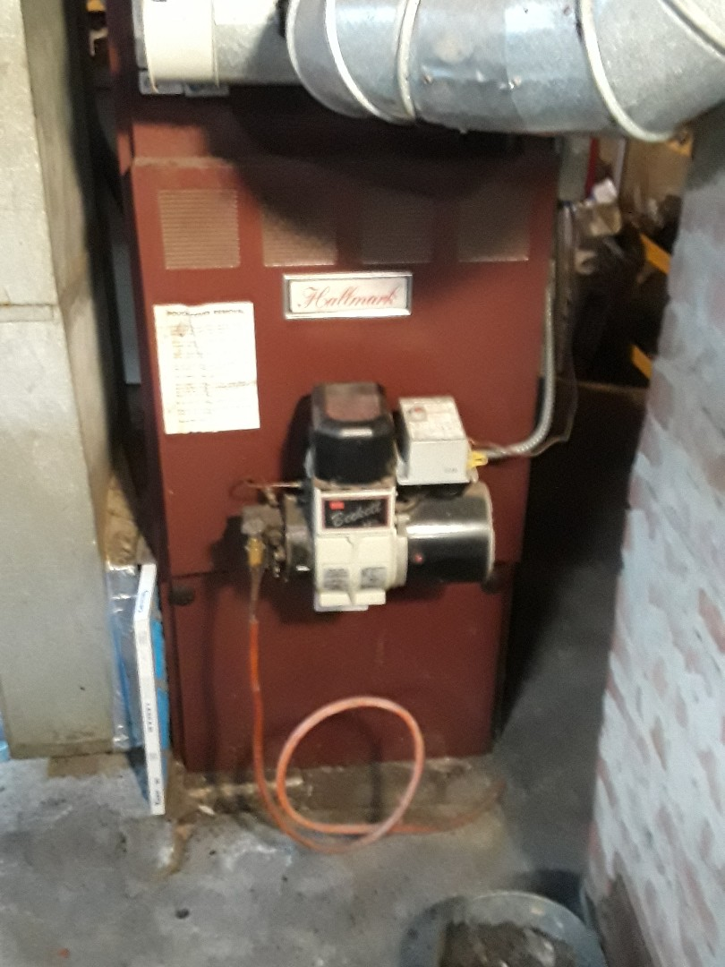 Westminster, MA - Heat repair on a Hallmark oil furnace