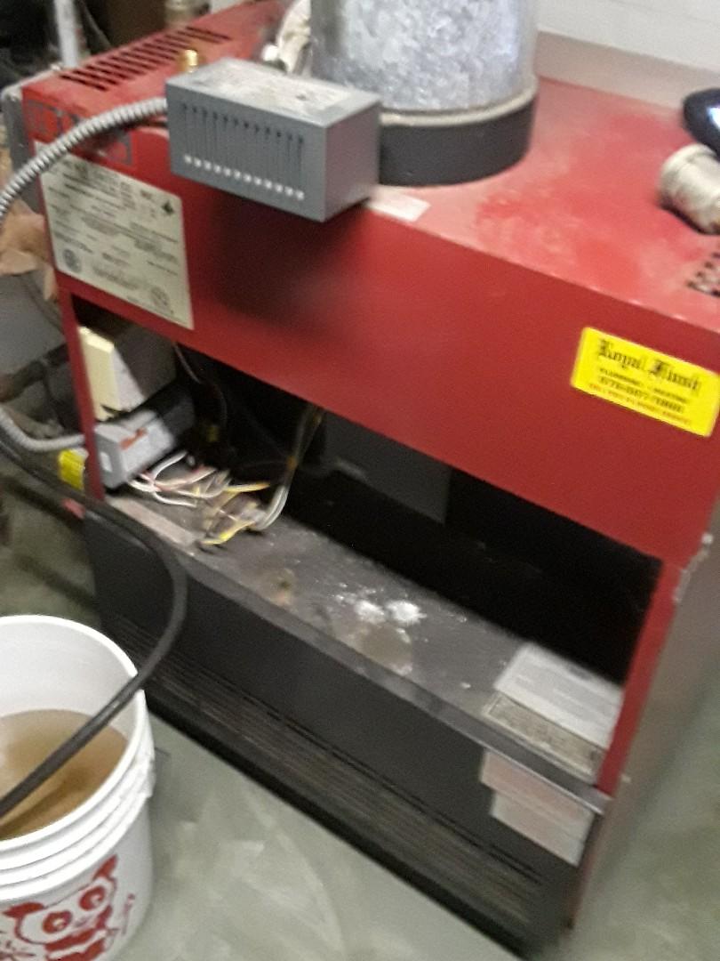 Devens, MA - Repair on  HB Smith gas boiler