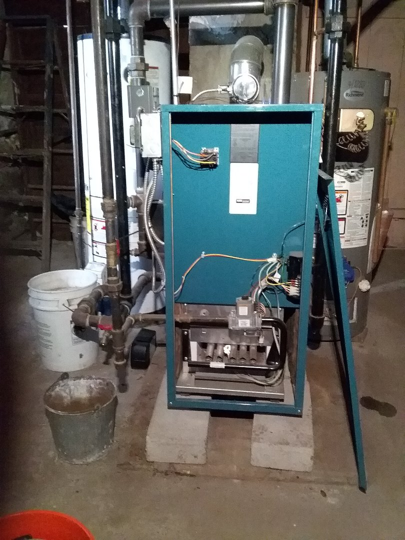 Worcester, MA - Performed preventive maintenance procedures on Burnham gas steam boiler and whirlpool water heater
