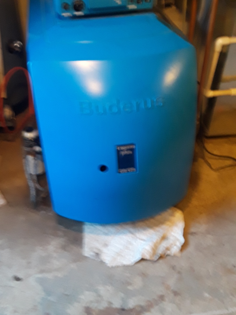 Uxbridge, MA - Repair on a Buderus oil boiler