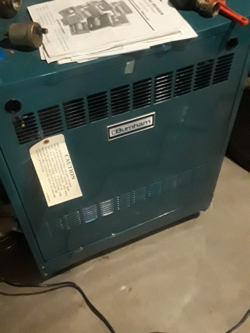 Shrewsbury, MA - Repair on a Burnham gas boiler