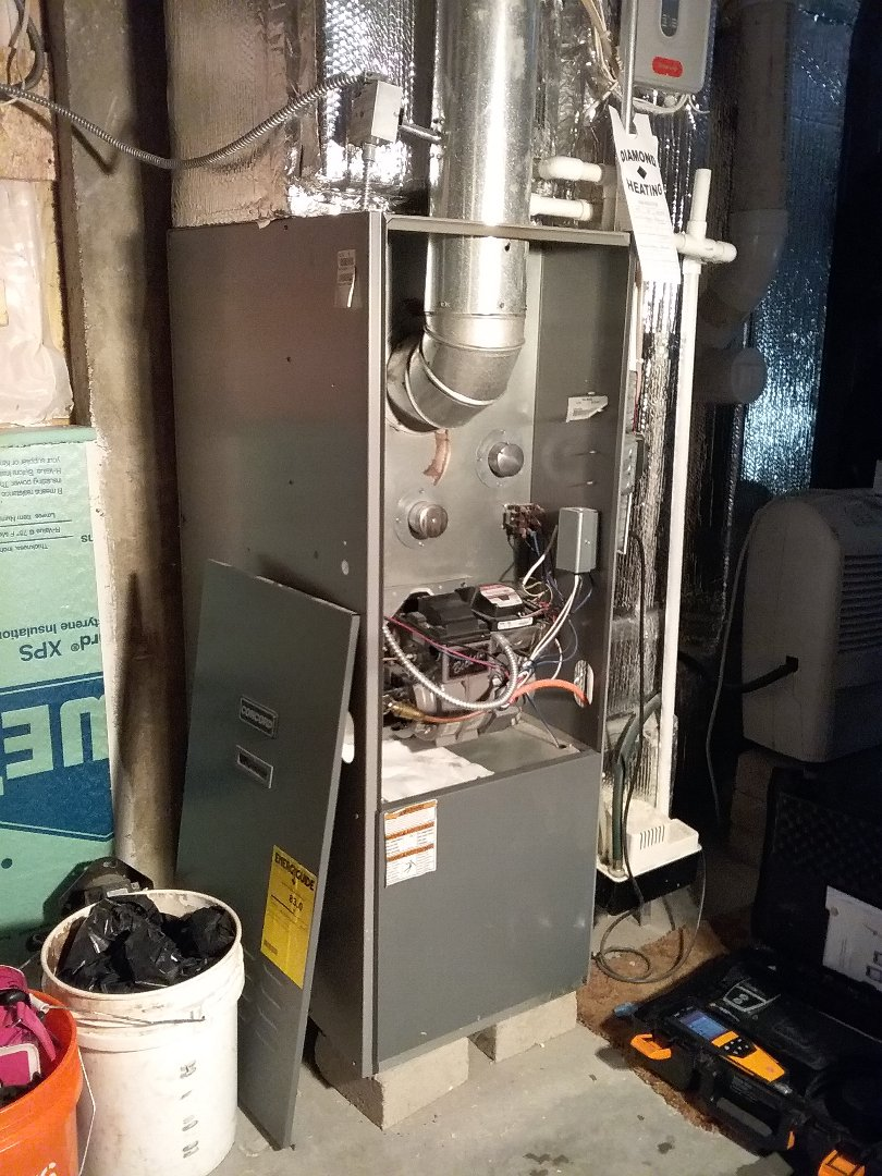Uxbridge, MA - Performed preventive maintenance procedures on concord oil furnace