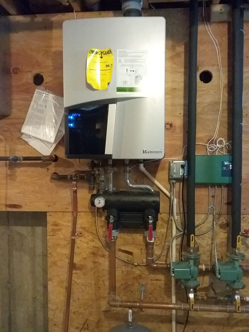 Rutland, MA - Replace pressure relief valve on rinnai boiler