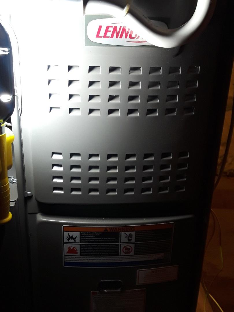 Westborough, MA - Repair on a Lennox gas furnace