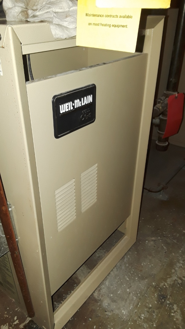 Westborough, MA - Clean and check Weil McLain gas boiler