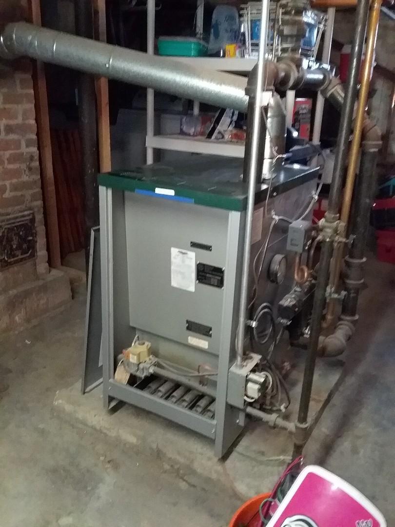 Auburn, MA - Performed preventive maintenance procedures on peerless gas steam boiler and richmond gas water heater