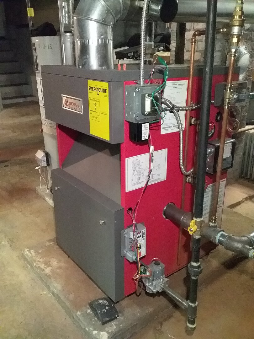Southbridge, MA - Performed preventive maintenance procedures on crown gas steam boiler