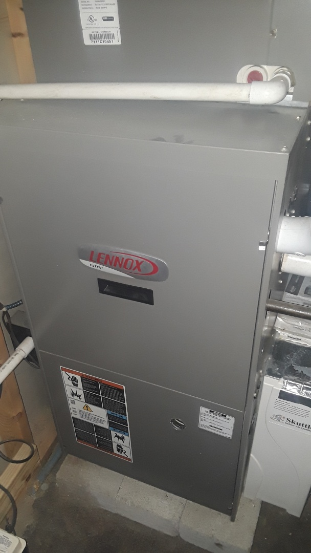 Fitchburg, MA - Repair on a Lennox gas furnace