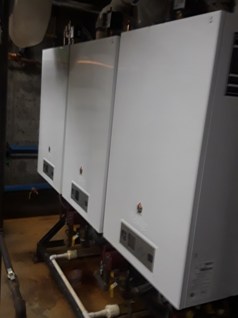 Fitchburg, MA - Clean and check Triangle Tube gas boilers