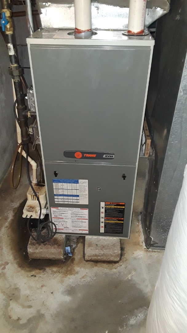 Harvard, MA - Repair on a Trane gas Furnace