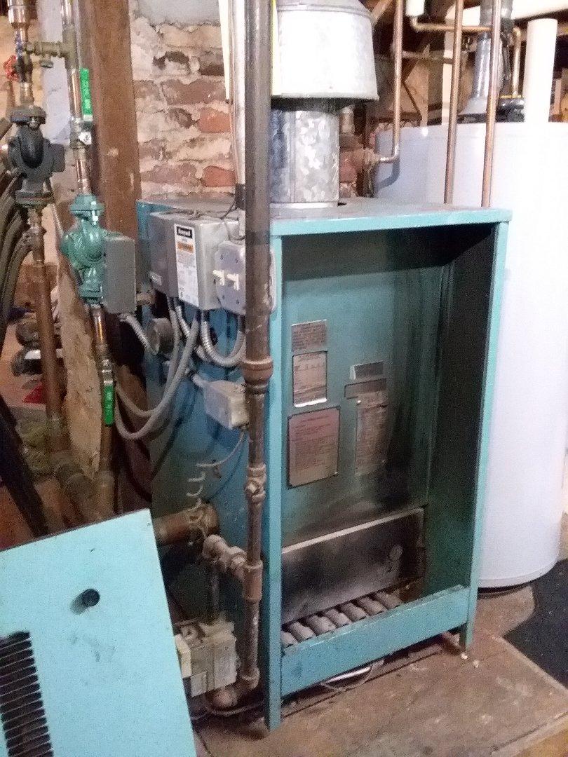 Upton, MA - Performed preventive maintenance procedures on Burnham gas boiler