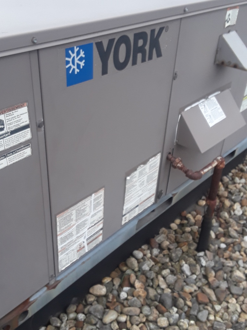 Leominster, MA - Clean an check York rooftop unit