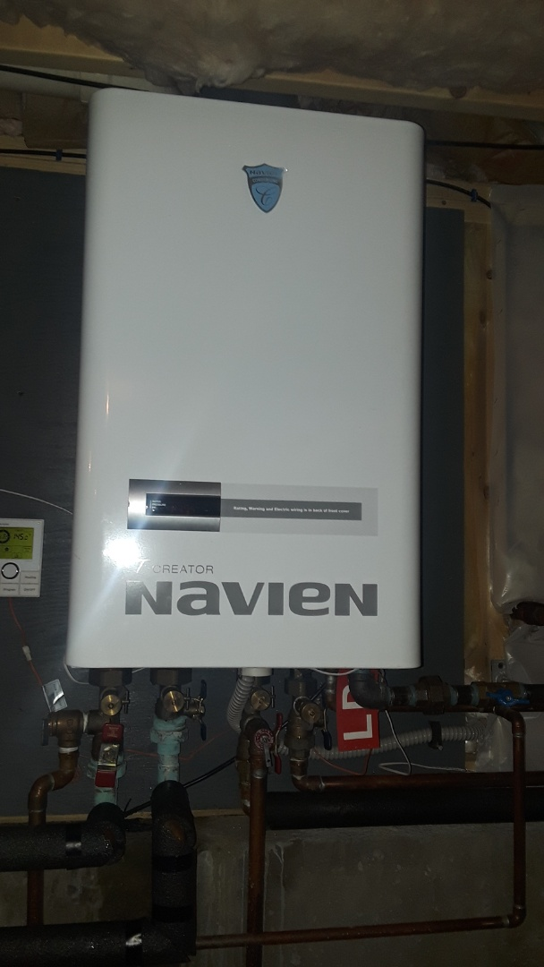 Hubbardston, MA - Clean and check Navien has boiler