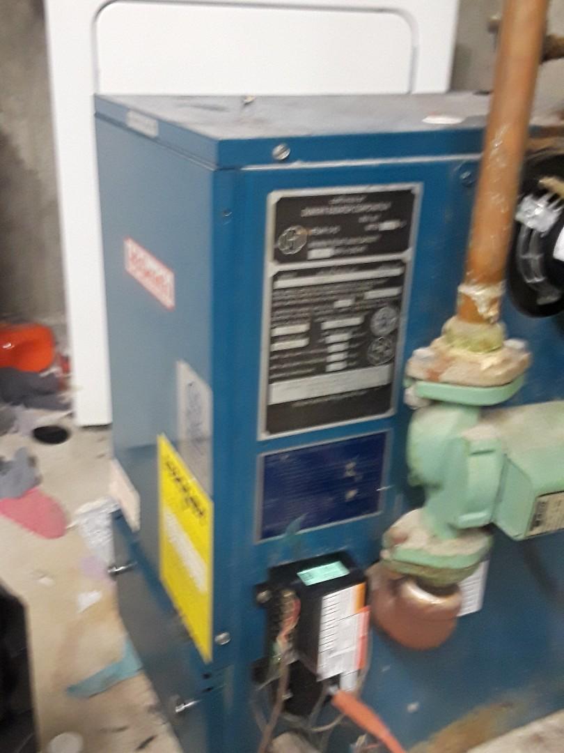 Auburn, MA - Repair on a Dunkirk gas boiler
