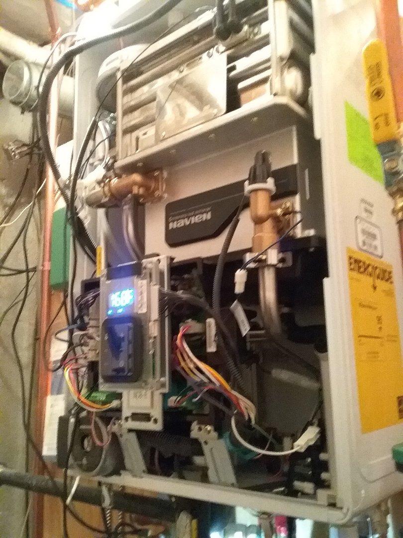 Auburn, MA - Service on a navien gas water boiler