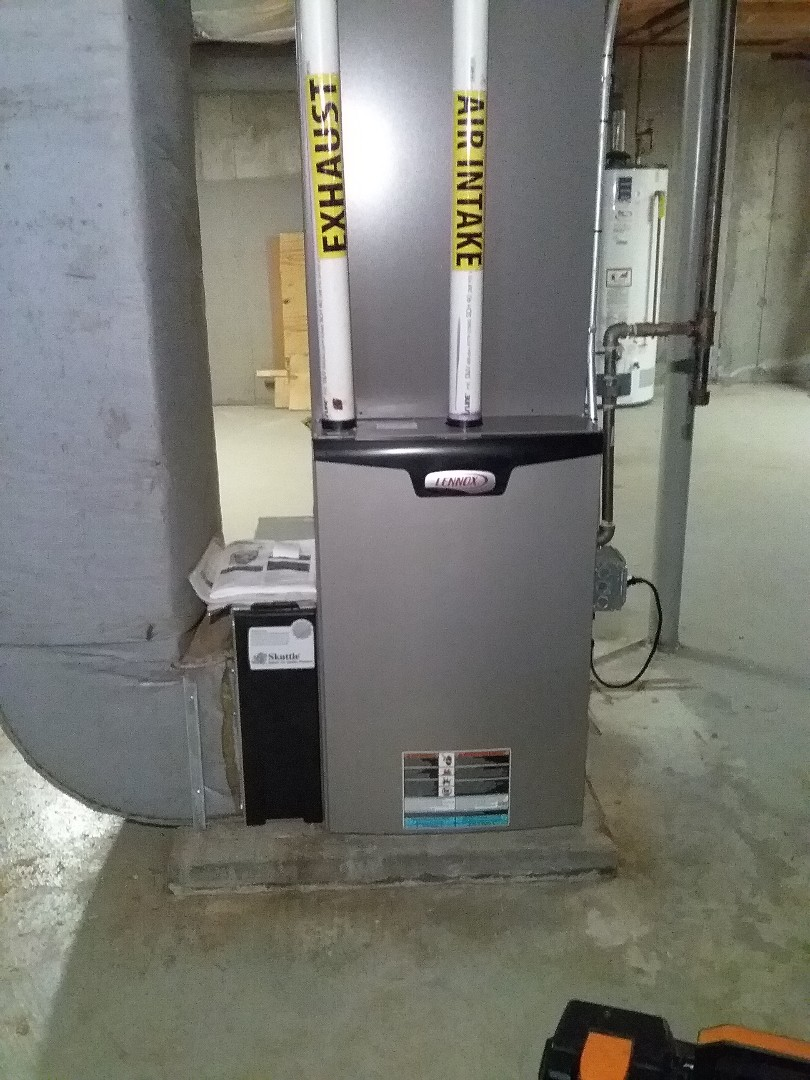 Marlborough, MA - Performed preventive maintenance procedures on lennox gas furnace