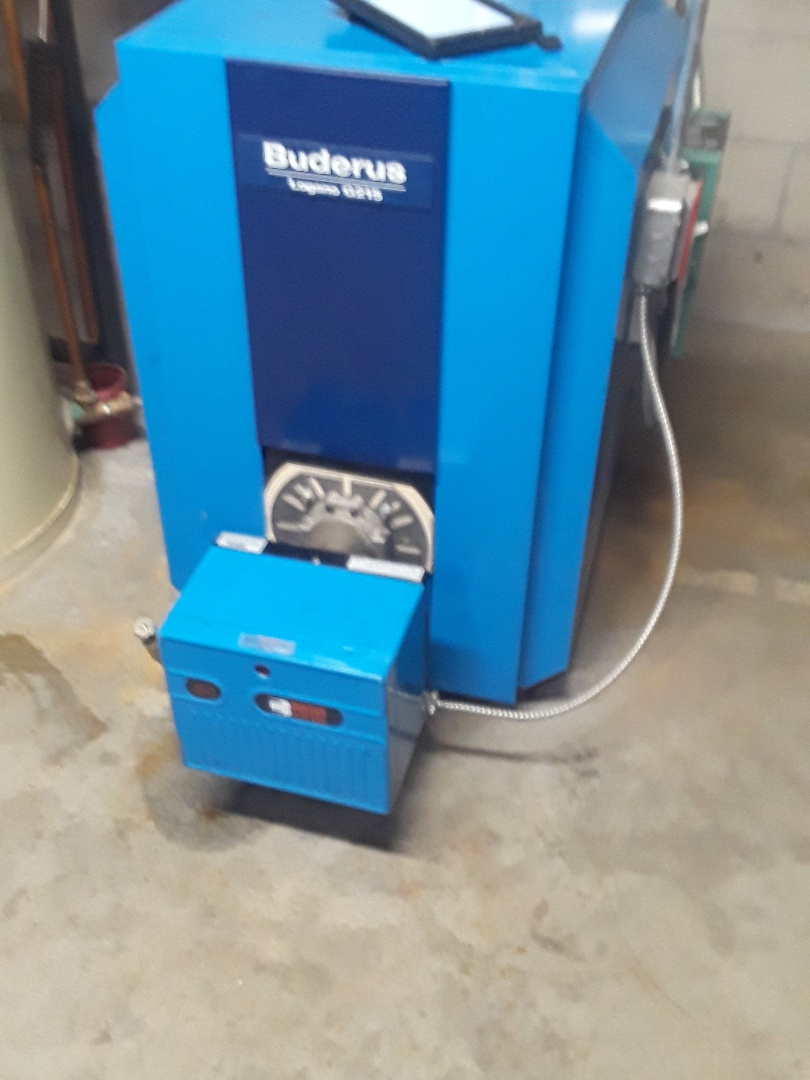 Leominster, MA - Clean and check Buderus oil boiler