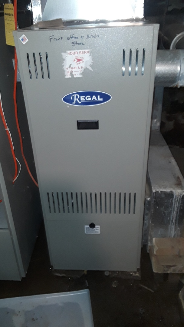 Princeton, MA - Clean and check Regal oil heating unit