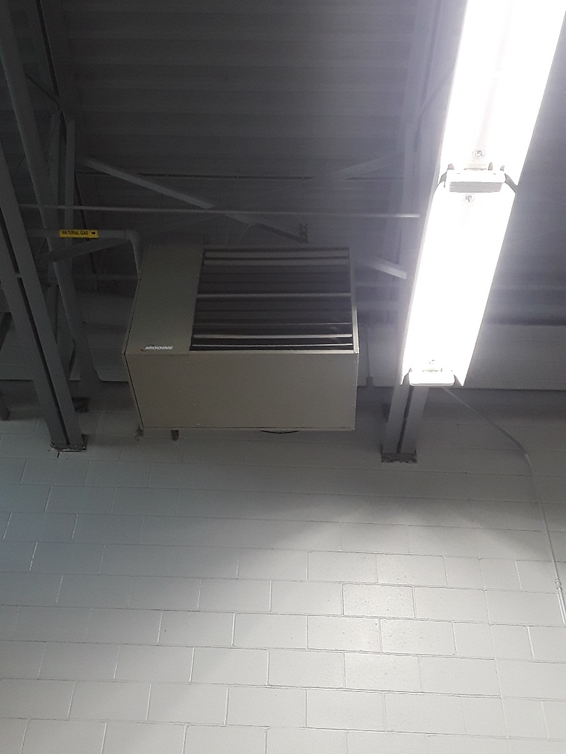 Fitchburg, MA - Clean and check Modine gas unit heaters