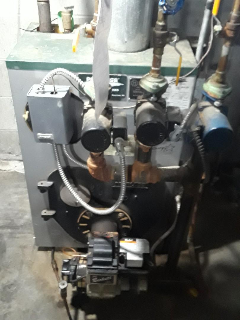 Leominster, MA - Repair on Peerless oil boiler
