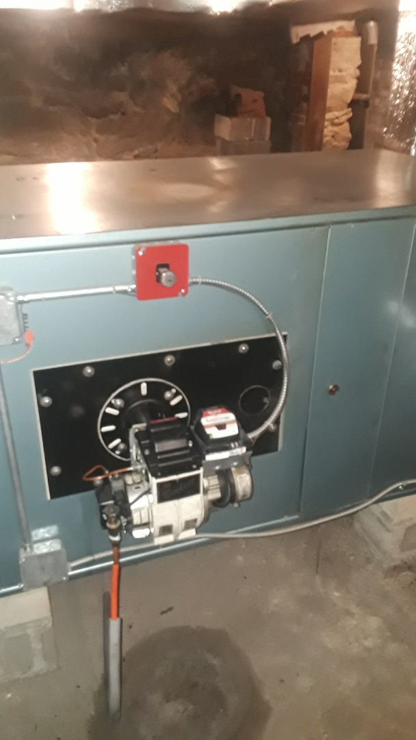 Fitchburg, MA - Clean and check Metromatic oil furnace