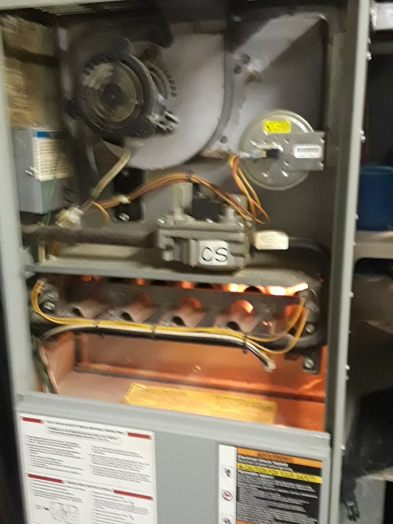 Northborough, MA - Repair on an American Standard gas furnace